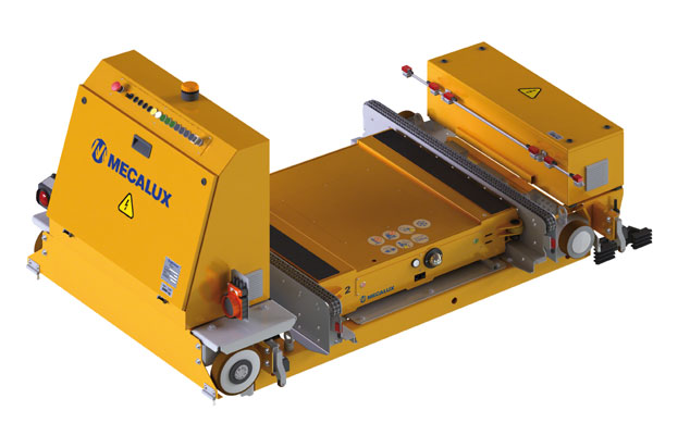 The new batteries and supercapacitors for automated material handling systems